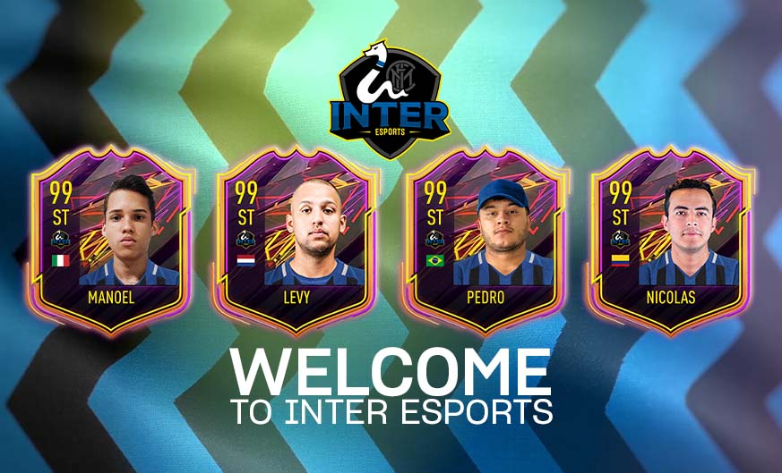 Inter unveil new FIFA21 eSports team