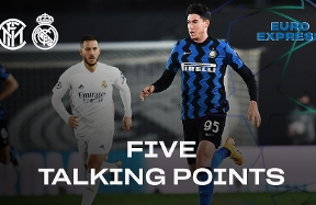 Euro Express | Ahead of Inter vs. Real Madrid, all of the talking points