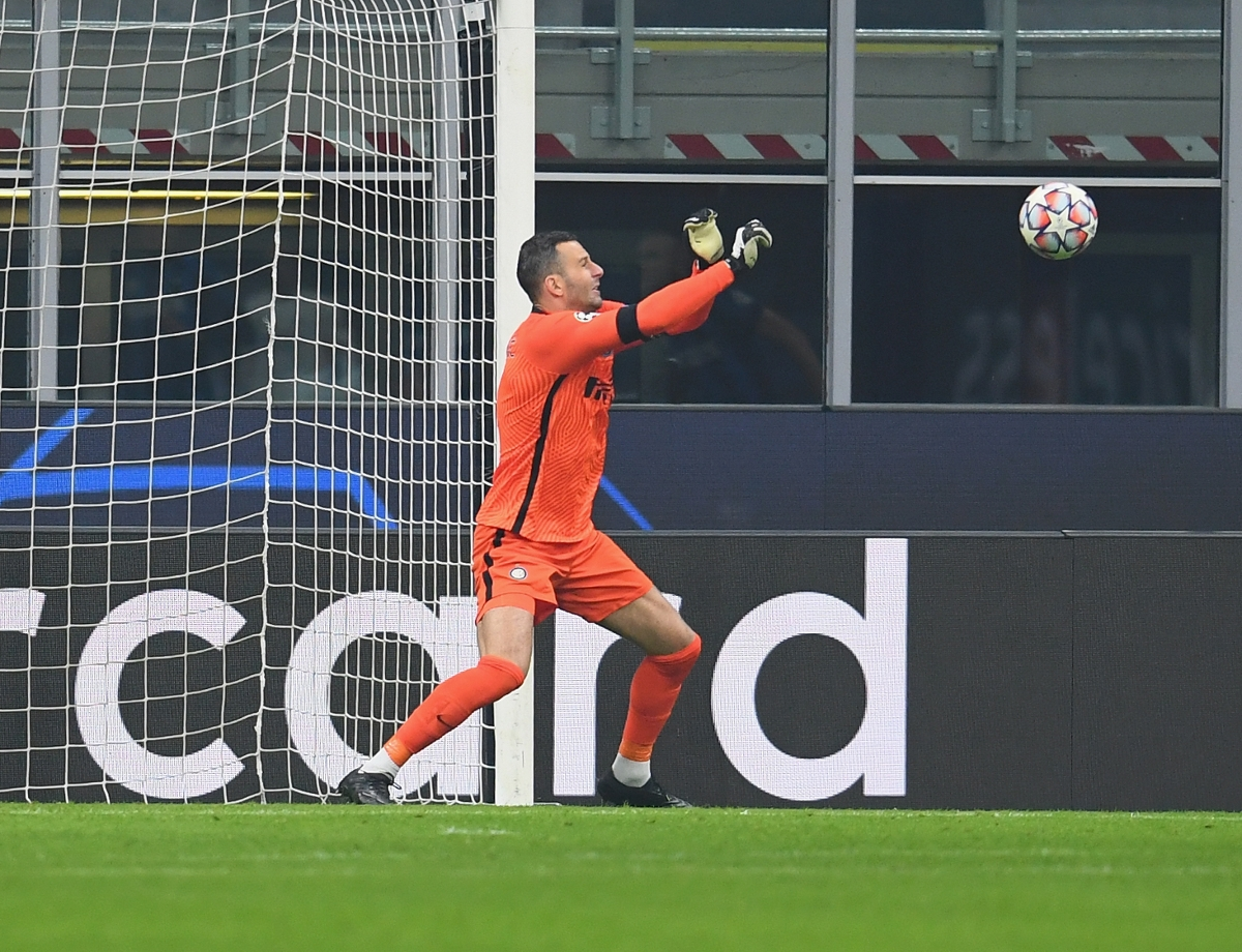 """Handanovic: """"The pitch doesn't lie"""""""