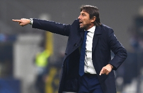 "Conte: ""An uphill struggle from the start, we still need to grow to reach Real's level"""