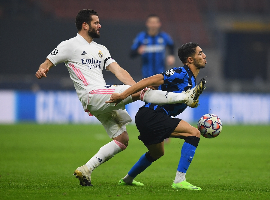 A hugely disappointing evening for Inter: Real Madrid win 2-0 at San Siro