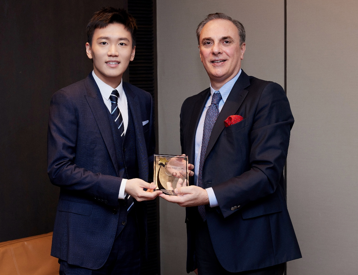 """Steven Zhang has been awarded the """"Leading Emerging Partner"""" prize"""