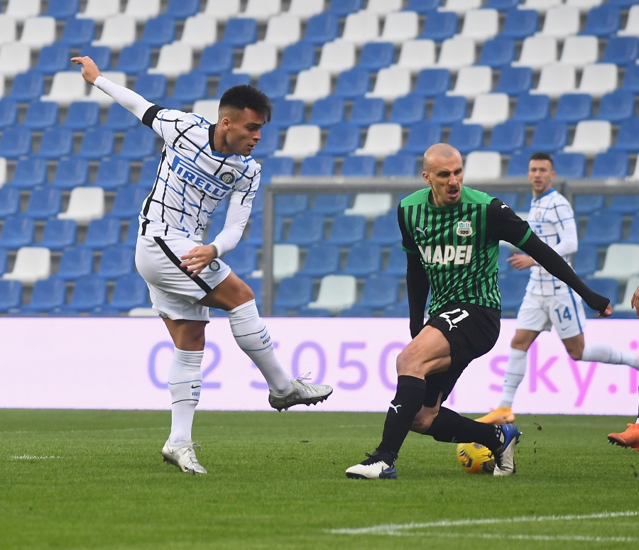 Sassuolo-Inter 0-3, match review