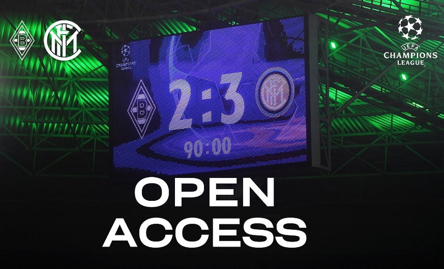 OPEN ACCESS | Behind-the-scenes footage from our win in Mönchengladbach
