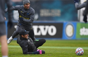 PHOTOS AND VIDEO | The Nerazzurri's training session ahead of Inter vs. Shakhtar
