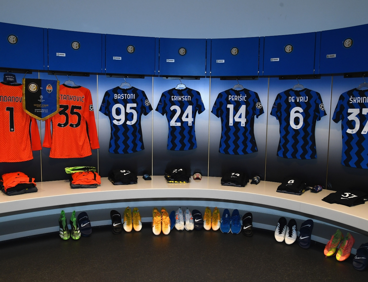 Inter vs. Shakhtar Donetsk, the official line-ups