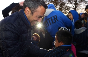 Youri Djorkaeff and the FIFA Foundation: the importance of listening