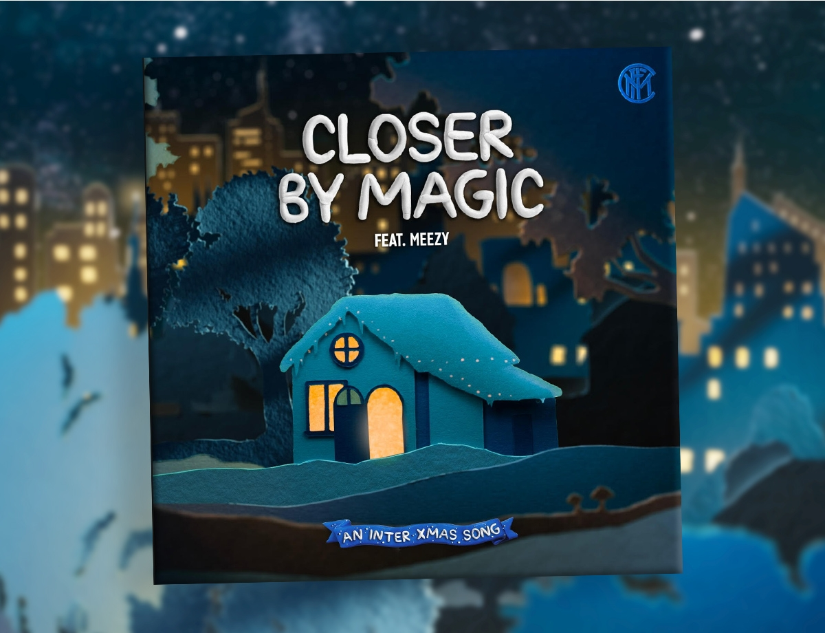 CLOSER BY MAGIC, listen to Inter's Christmas song!