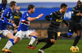 Pre-match stats: facts and figures ahead of Inter vs. Sampdoria