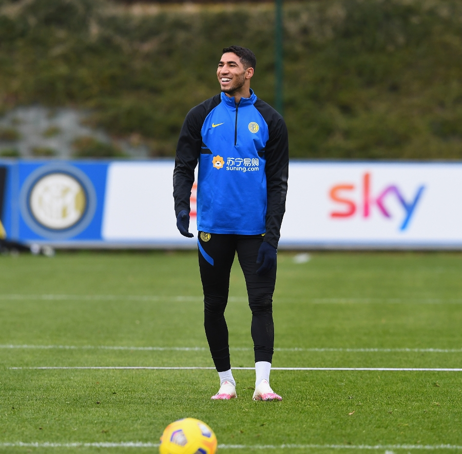 Heading towards Inter vs. Juventus: the team in training | THE PHOTOS