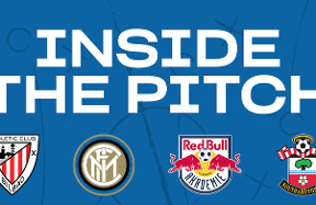 The Nerazzurri's Elite Academy take part in Inside the Pitch event