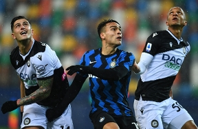 Udinese hold Inter to goalless draw