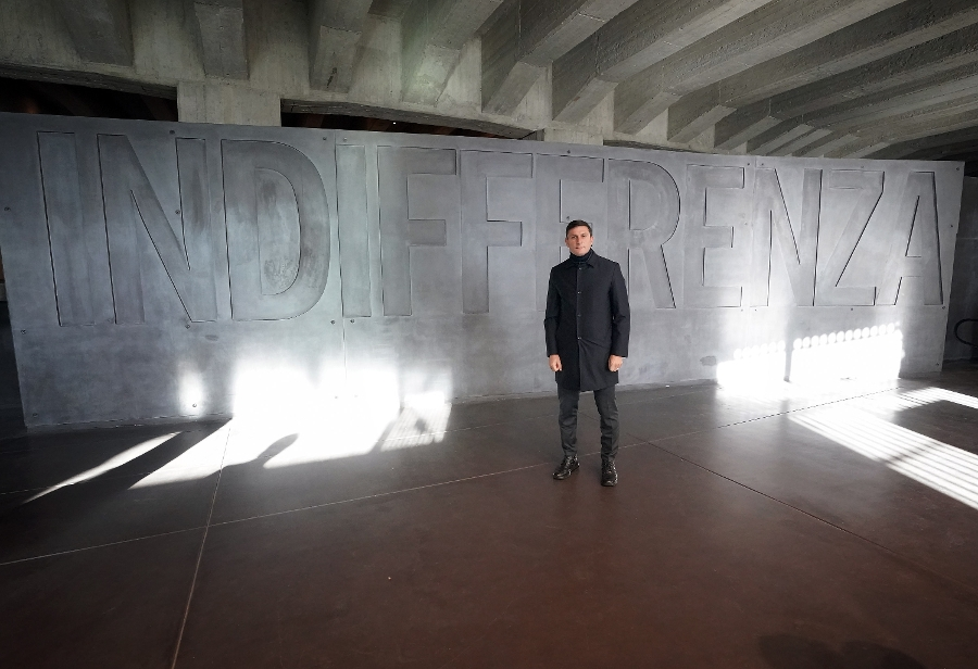 Remembrance Day, Inter at the Holocaust Memorial in memory of Árpád Weisz