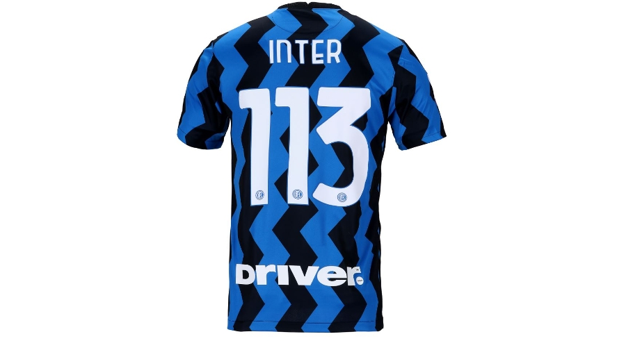 Inter 113, a special celebratory shirt on sale