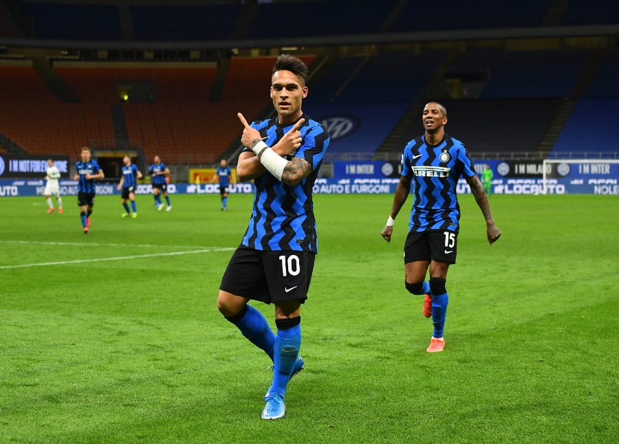 Lukaku+Lautaro, 10 wins in a row!