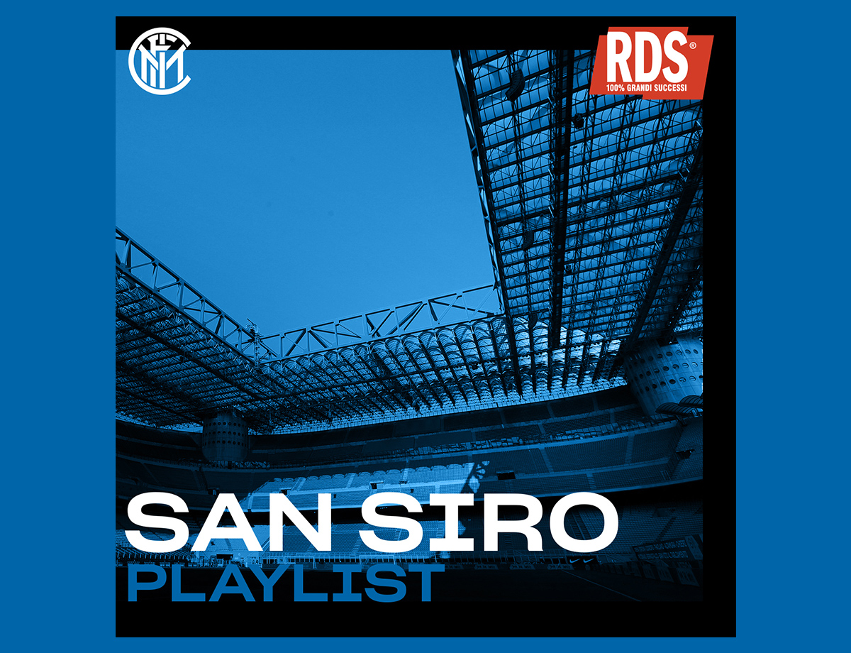 Discover the new playlist that will accompany Inter at San Siro