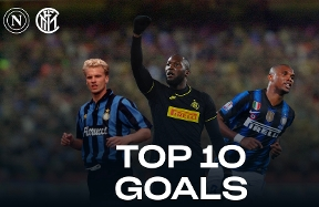 Napoli vs. Inter, the Nerazzurri's 10 best goals | VIDEO