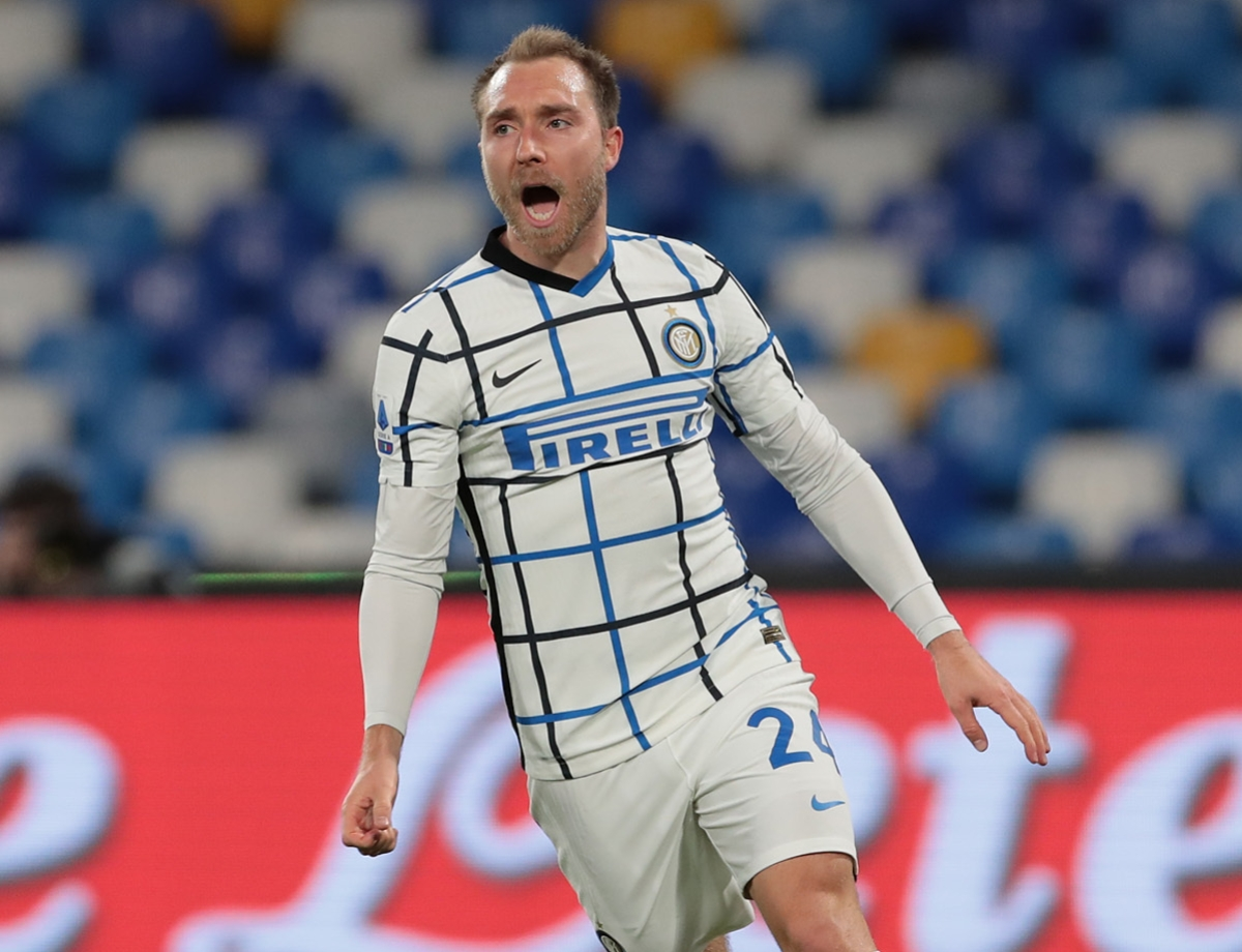 """The two-footed Eriksen: """"An important point, we're remaining focused"""""""