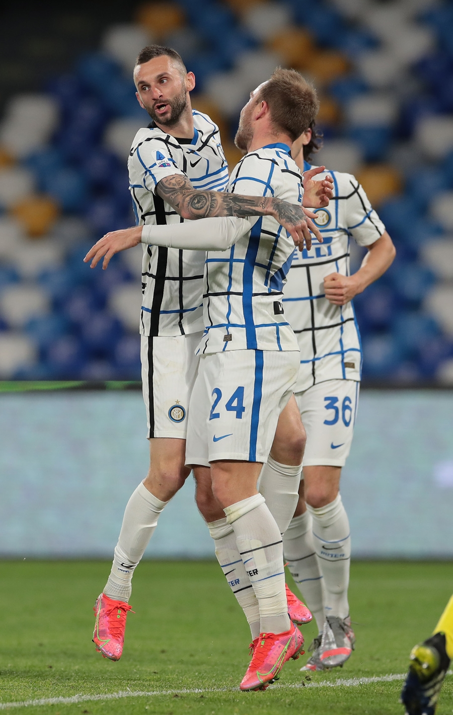 Napoli 1-1 Inter | The photos from this evening's draw