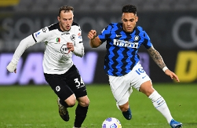 Spezia 1-1 Inter | The match gallery
