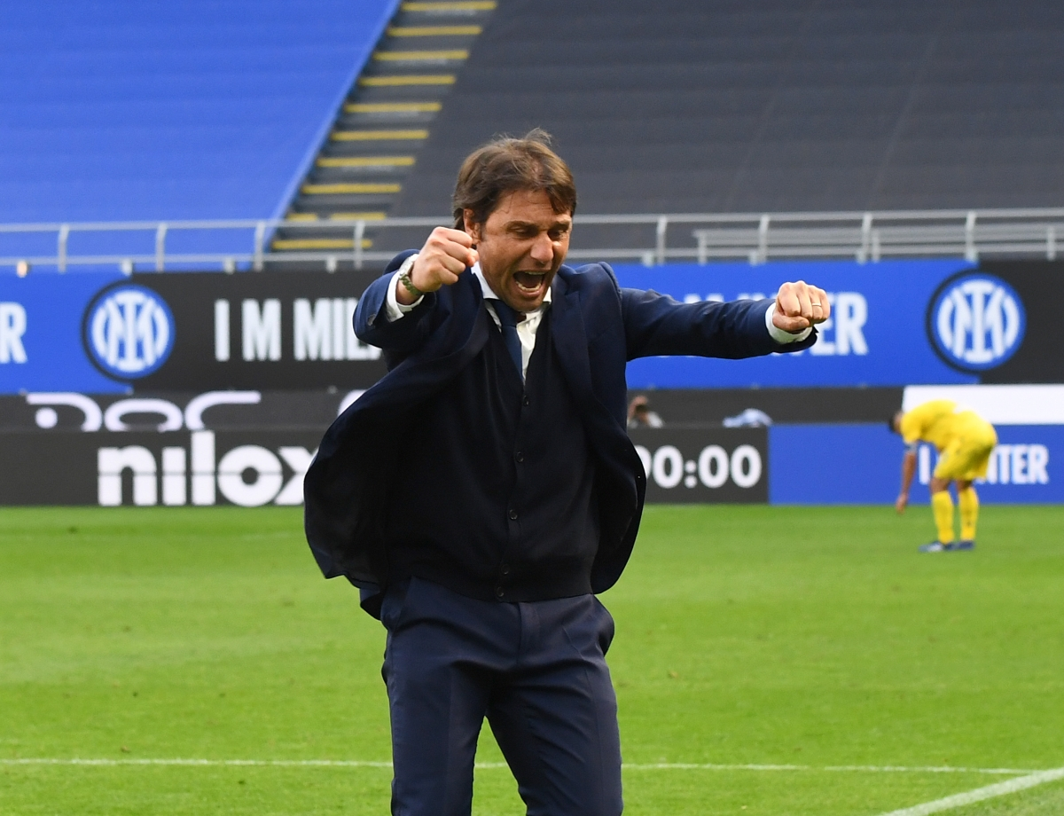"""Conte: """"Happy for us and the fans, fruit of hard work and sacrifice..."""""""