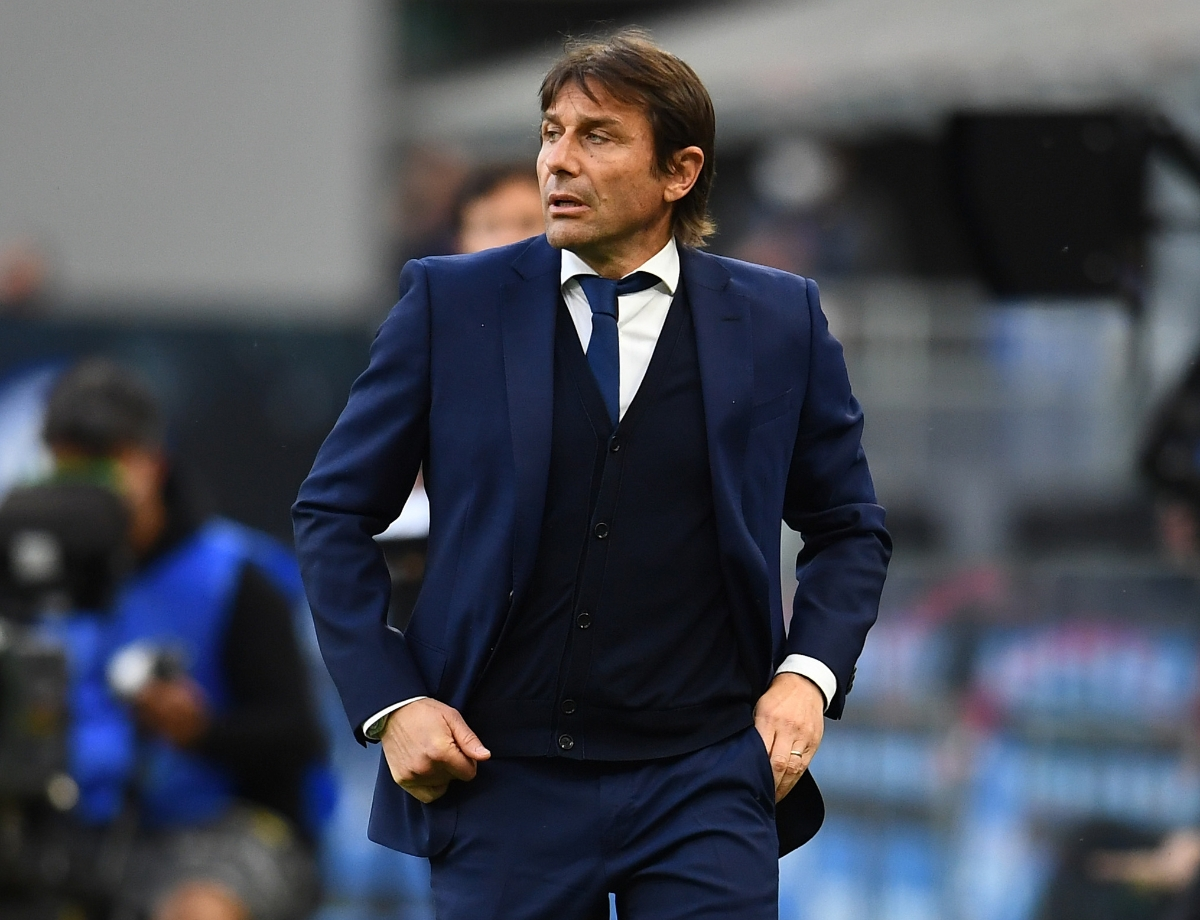 """Conte: """"There are still three games left, we want to honour the Scudetto and give it our all"""" 