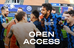 OPEN ACCESS | Inter vs. Sampdoria... as Champions!