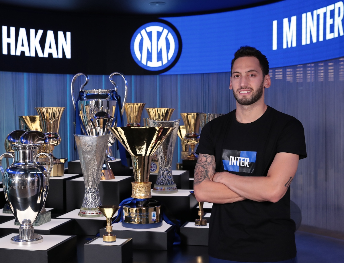 """Calhanoglu: """"I'm happy to be at Inter, I want to do great things with this Club"""" 