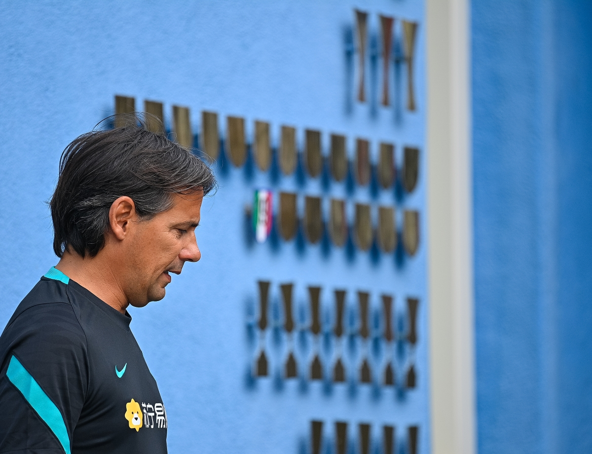 Inter squad for first pre-season under Simone Inzaghi