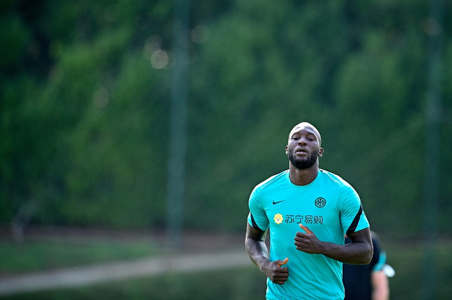 """Lukaku: """"I'm pleased to be back. We'll work hard to achieve more success"""""""