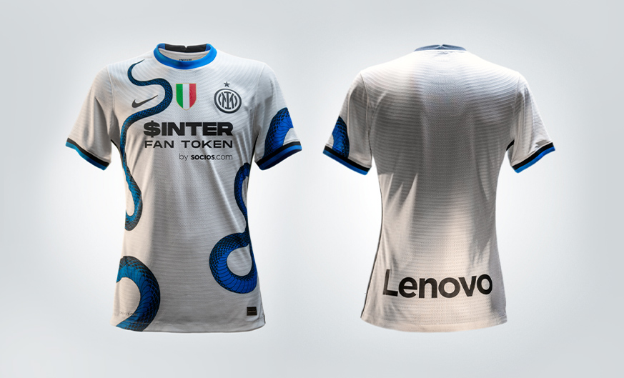 The new skin of an icon: snap up the away shirt now!