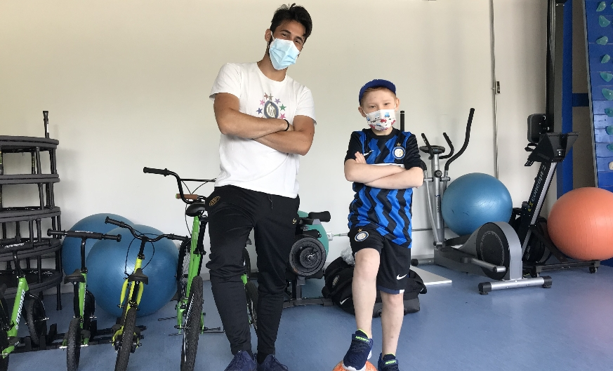 Inter Campus and Sport Therapy: a special partnership