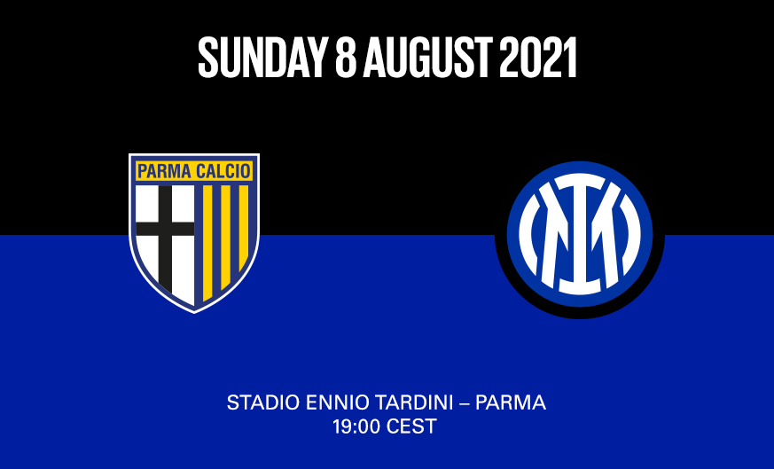 Inter to take on Parma in friendly on Sunday 8 August