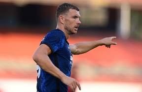 """Dzeko: """"Delighted to be here. I'll give my all for Inter"""""""