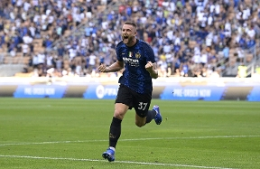 """Skriniar on the opening game: """"We're united and strong. It was a great start"""""""
