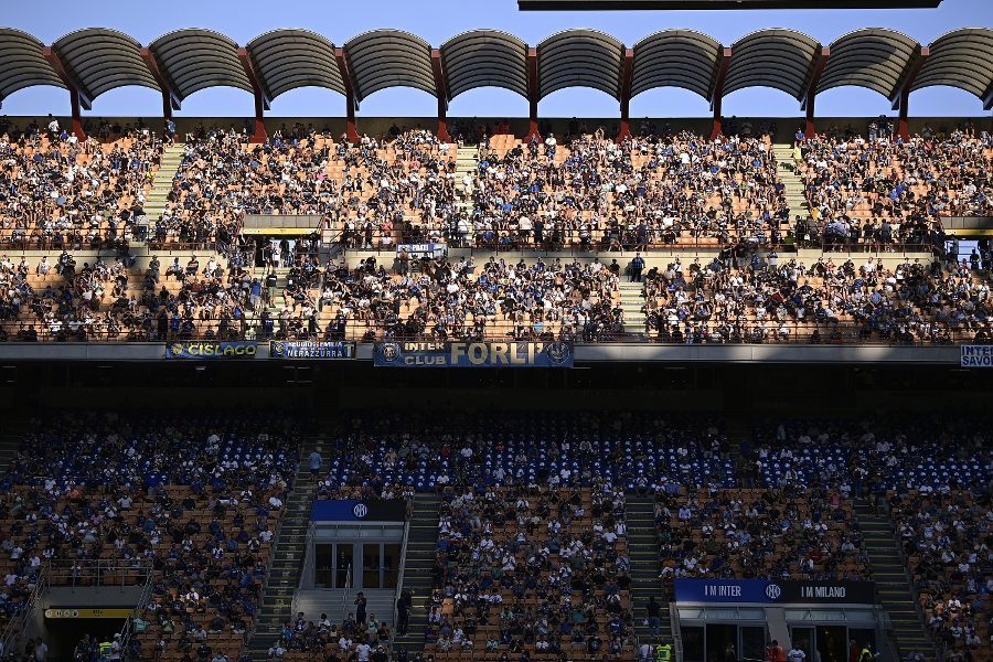 San Siro gallery: Welcome back, Inter fans!