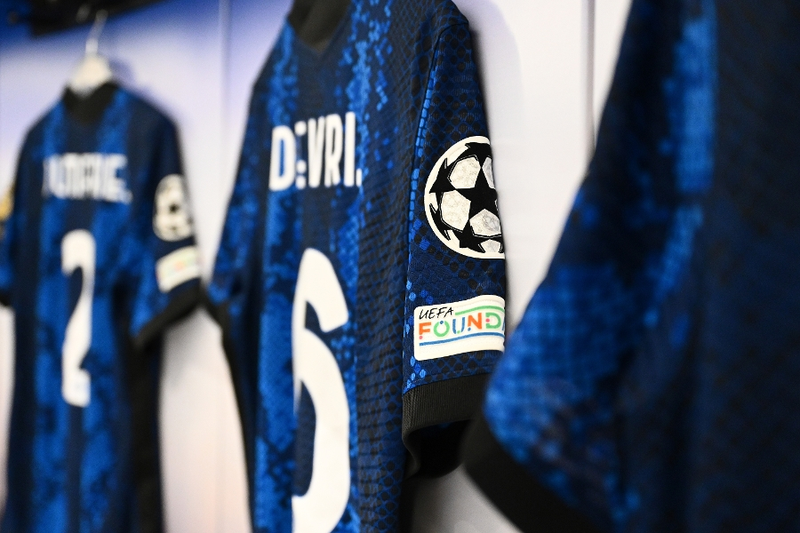Photos: inside the Inter dressing room ahead of Real Madrid clash
