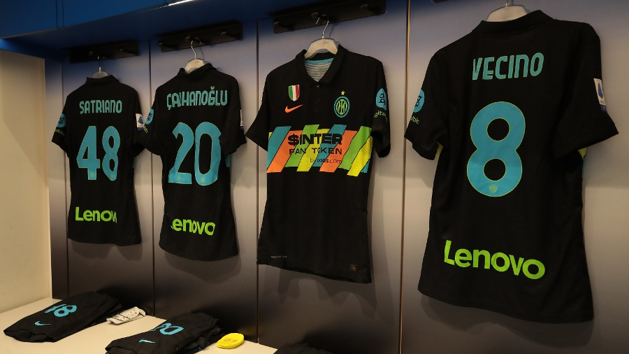 Photos: Inter to debut third kit against Bologna
