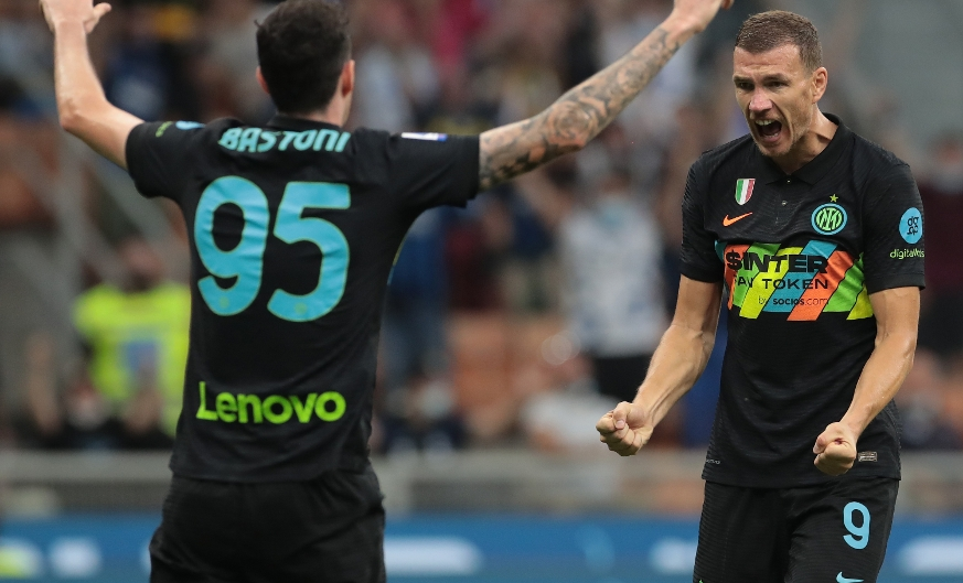 Inter Stats | Dzeko's brace, another headed goal, Lautaro and Barella's good form continues