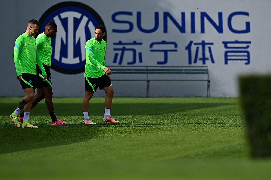 Inter train ahead of Shakhtar in the Champions League