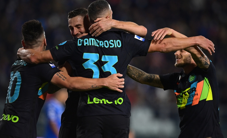 D'Ambrosio and Dimarco strikes see Inter defeat Empoli