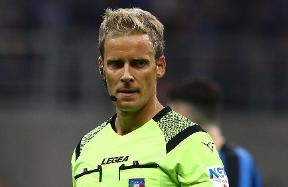 Chiffi will be the referee for Inter vs. Genoa