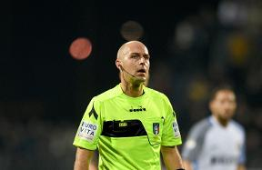 Luca Pairetto to referee Inter vs. Bologna