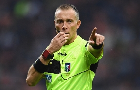 Coppa Italia, Valeri to referee Inter vs. AC Milan