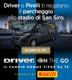 DRIVER ON THE GO ti raggiunge a San Siro