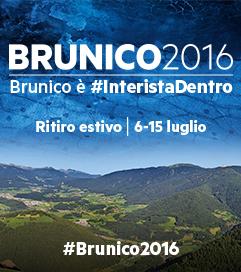 [L'INTER torna a Brunico in Alto Adige per il ritiro estivo dal 06.07 al 15.07.2016!Vi aspettiamo numerosi nella nostra Area Vacanze Plan de Corones e tra le nostre montagne!Immerso in un paradiso naturale, Brunico è ideale per escursioni, per vacanzieri attivi, ma non solo …Brunico quest´estate é il posto ideale per seguire la Vostra squadra del cuore.]