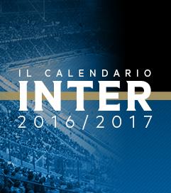 il calendario inter
