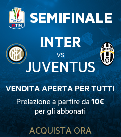 [tim cup 2016 - inter vs juventus tickets