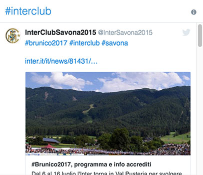 #INTERCLUB